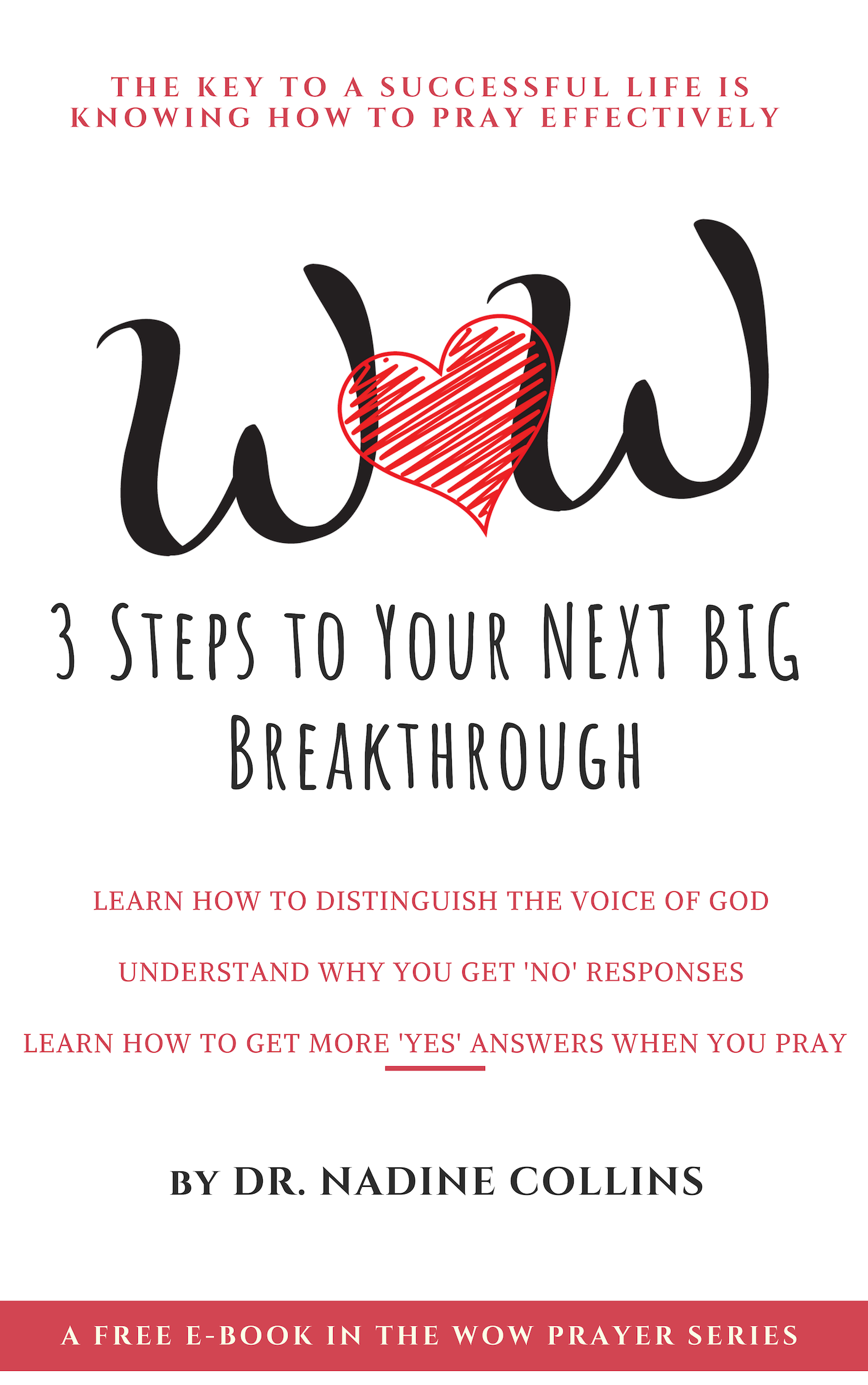 3 steps to your next big breakthrough, how to pray ebook